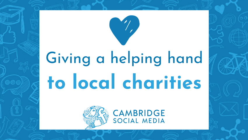 Giving a helping hand to local charities