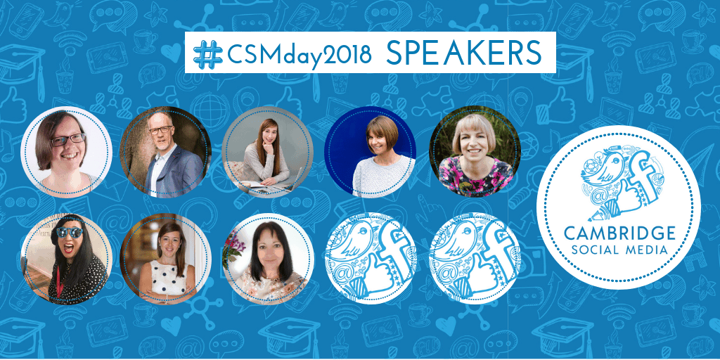 Who's coming to #CSMday2018? Introducing our amazing speakers!