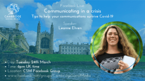Communicating in Crisis with Leanne Ehren