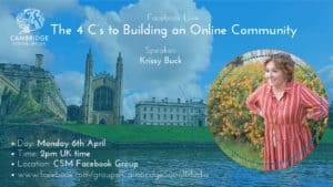 The 4 C's to Building an Online Community with Krissy Buck