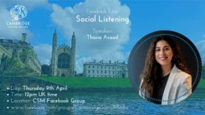Social Listening with Thana Asaad